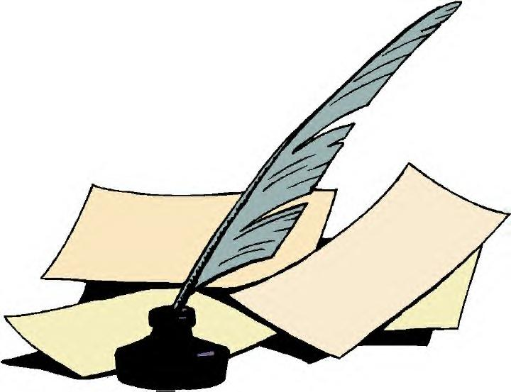 Free clipart quill pen and ink.