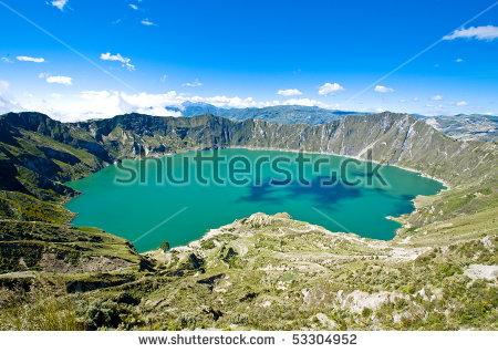 Quilotoa Crater Lake, Ecuador Stock Photo 53304952 : Shutterstock.