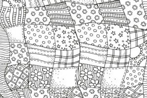Quilt clipart black and white 3 » Clipart Station.
