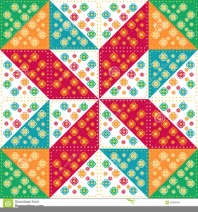 Free Quilt Pattern Clipart.