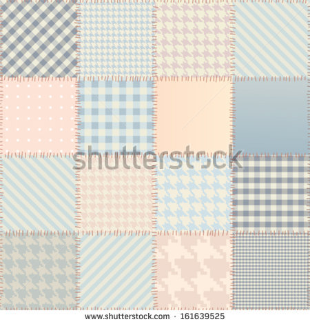 Patchwork Quilt Stock Vectors, Images & Vector Art.