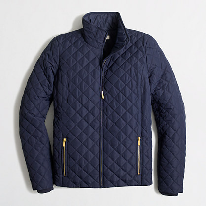 Factory quilted jacket : Coats.