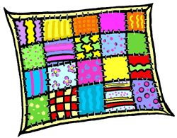 Quilters clipart.