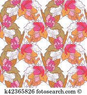Quince blossom Clip Art Vector Graphics. 49 quince blossom EPS.