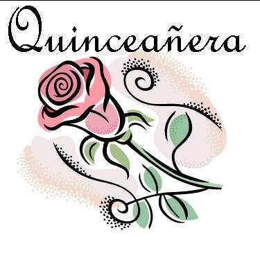 Quinceanera Clipart.