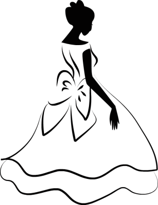 Free Wedding Dress Clipart quinceanera dress, Download Free.