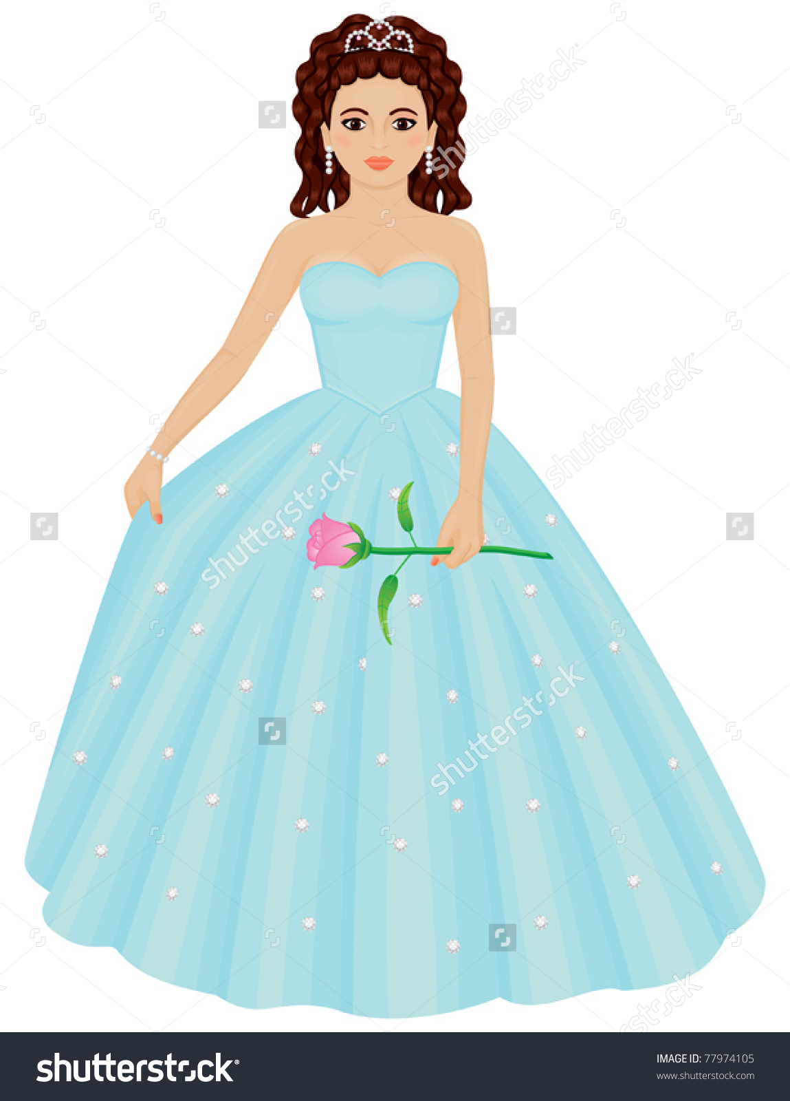 Quinceanera Dresses Drawings quinceanera pur...