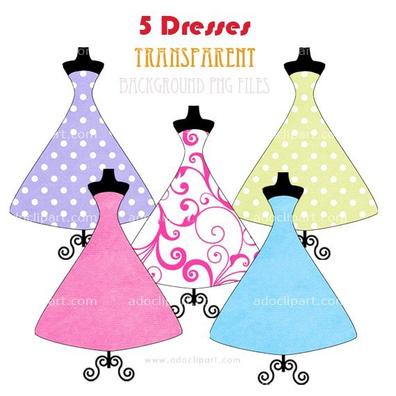 Quinceanera Purple Dress Clipart.