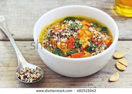 Quinoa Stock Photos, Royalty.
