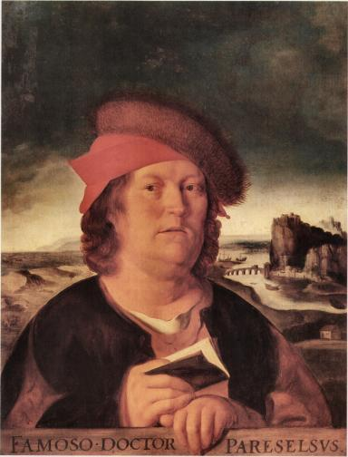 Portraits of Paracelsus.
