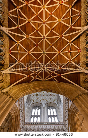The North Transept Stock Photos, Royalty.