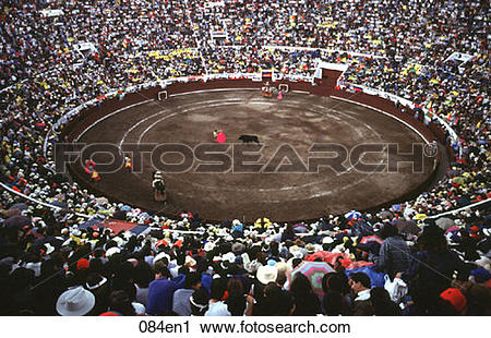 Stock Photography of Bullfight Quito Ecuador 084en1.