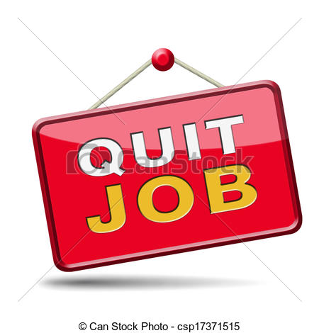 Quit job Clip Art and Stock Illustrations. 297 Quit job EPS.