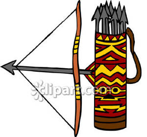 Arrow quiver clipart.
