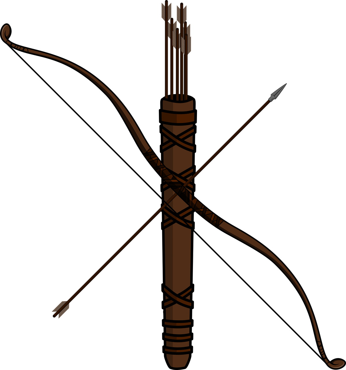 Arc Archery Arco Arrow Quiver PNG.