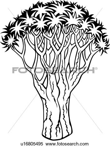 Clipart of , quiver, tree, varieties, u16805495.