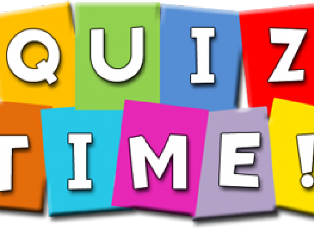 Knowledge Clipart Quiz Time.