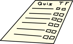 Free quiz clipart images.