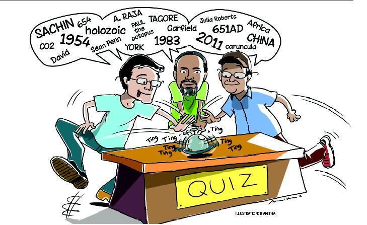 The General Idea : Quiz Team: In the Spotlight!.