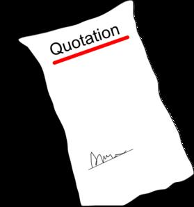 Quotation clipart.