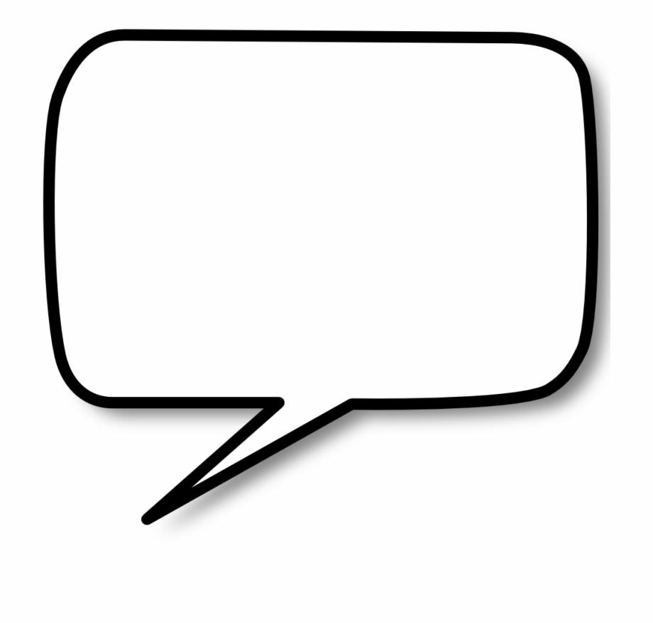Blank Speech Bubble Png.