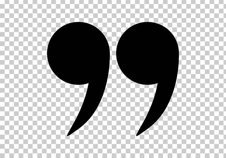Quotation Marks In English PNG, Clipart, Black And White.