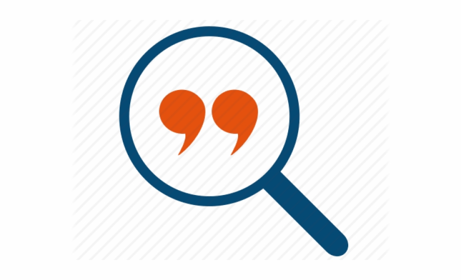 Quotes Clipart Communication Icon.