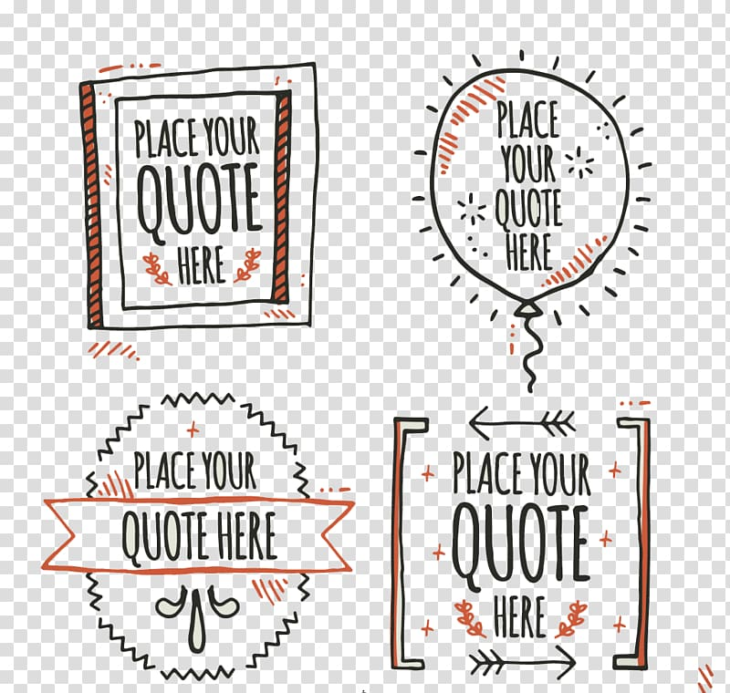 Place your quote here text overlay, Handwriting Quotation.
