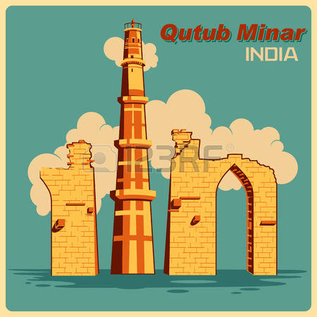 152 Qutub Minar Cliparts, Stock Vector And Royalty Free Qutub.