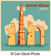 Qutub minar Clip Art Vector and Illustration. 139 Qutub minar.