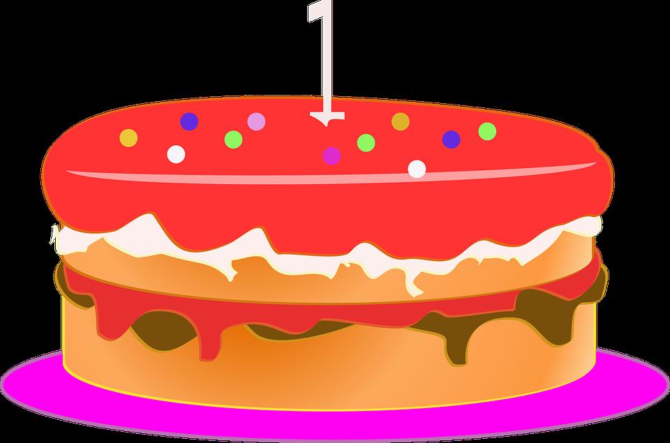 Free photo Bolo Cake Bolo De Aniversário Cartoon Anniversary.