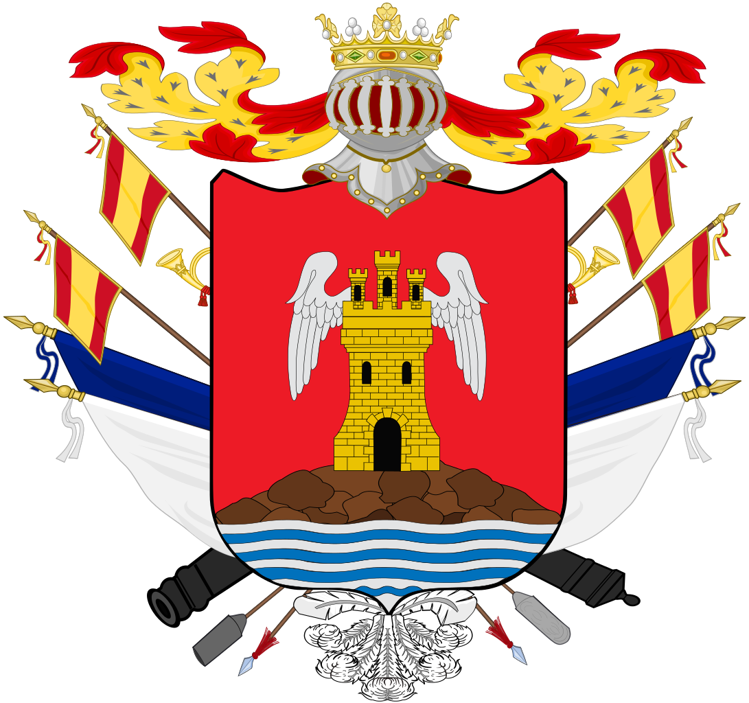 File:Coat of Arms of Gabriel de Aviles, Marquess of Aviles.