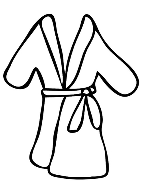 Robe Clipart.