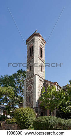 Stock Photography of First Protestant Church In The Rheingau Built.