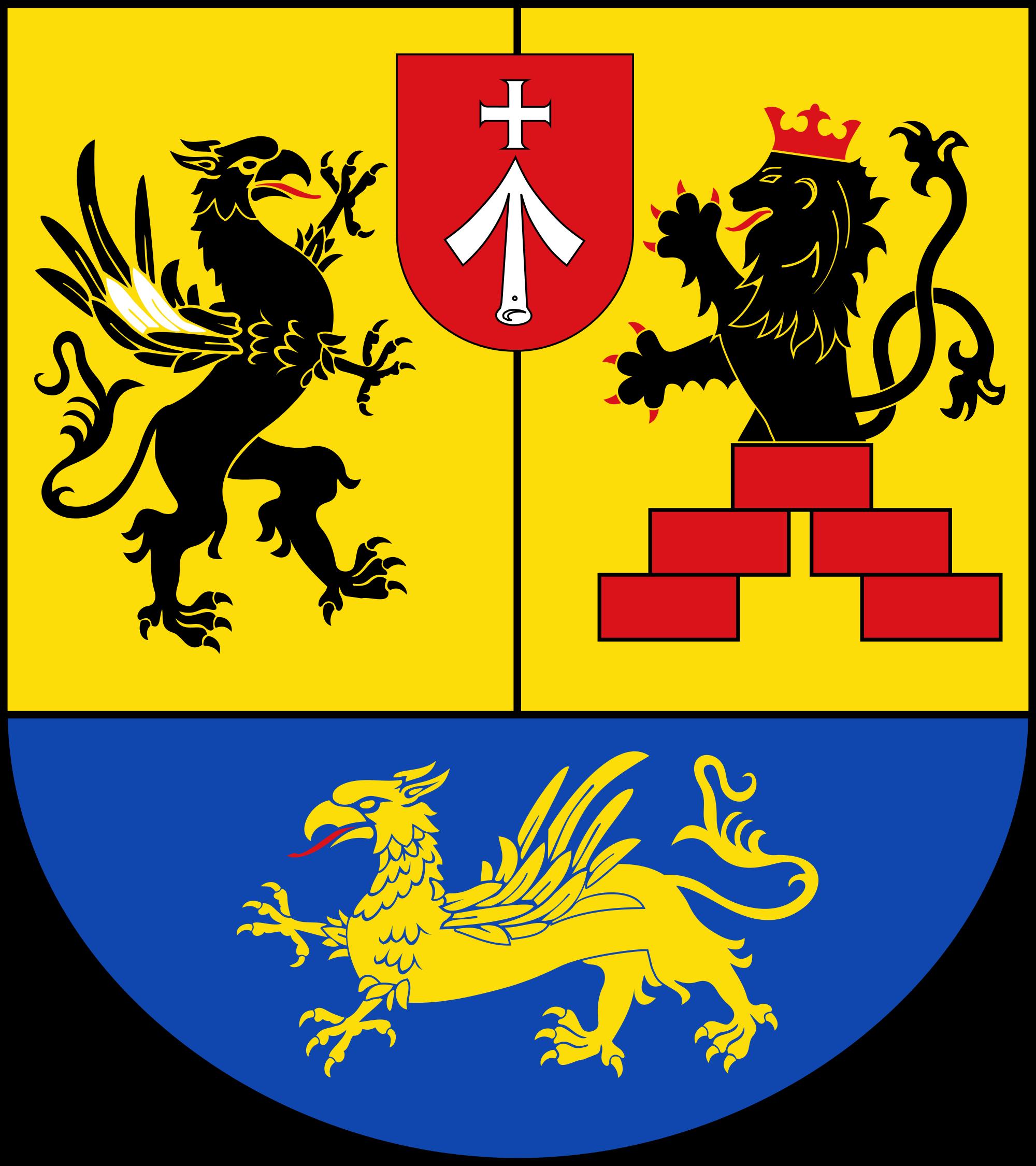 File:Wappen des Landkreises Vorpommern.