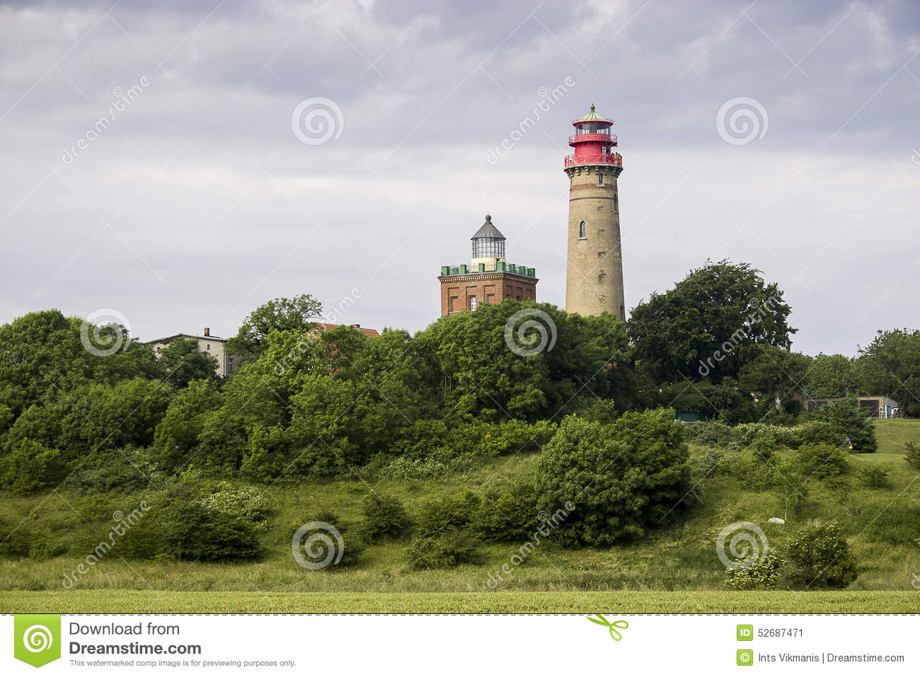 Lighthouse Of Rügen Island Royalty Free Stock Image.