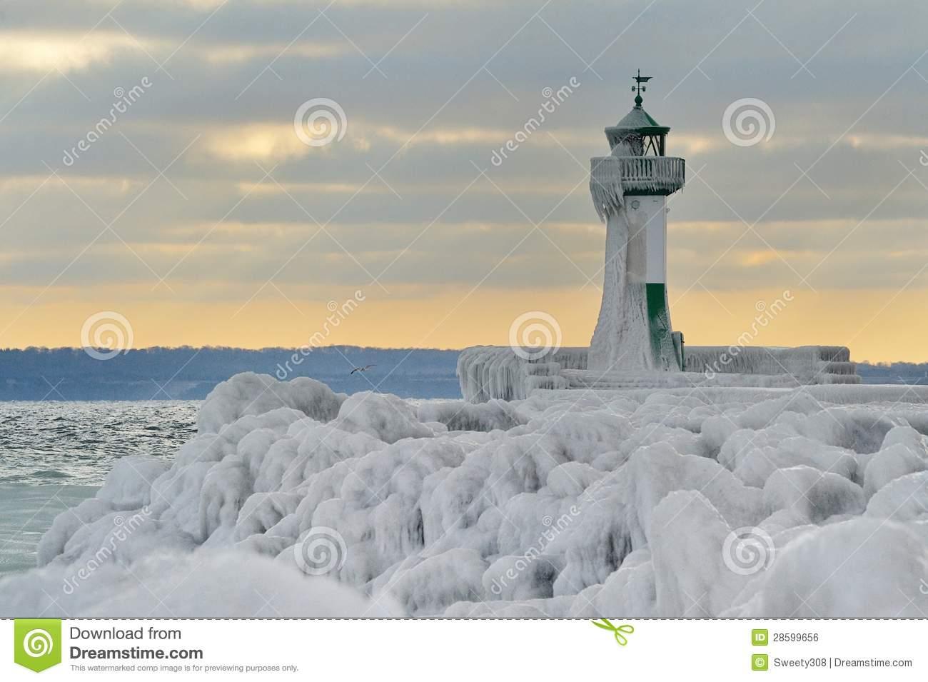 Lighthouse Of Rügen Island Royalty Free Stock Image.