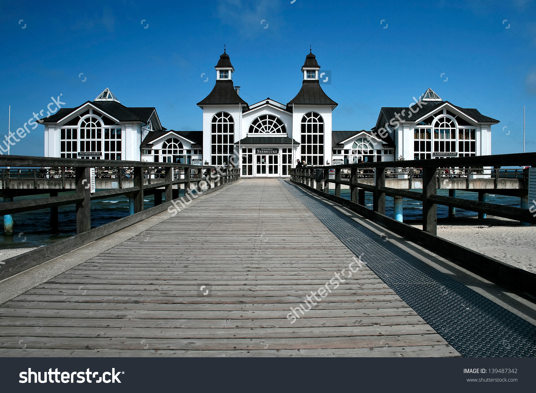 Seabridge Sellin Rugen Island Germany Stock Photo 139487342.