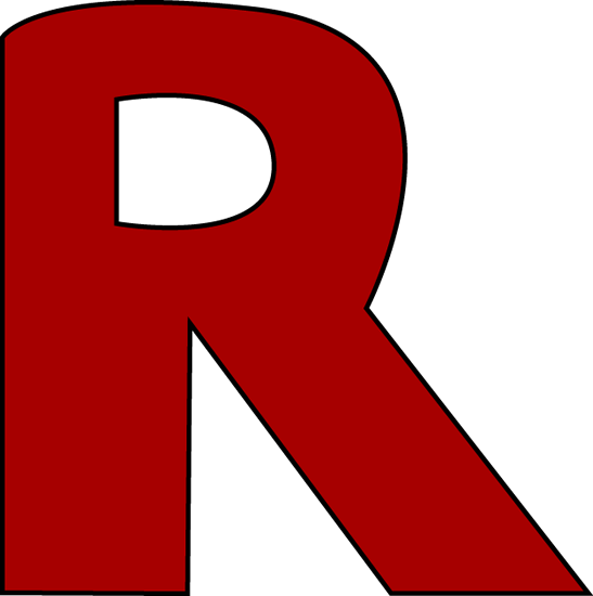 41+ Letter R Clipart.