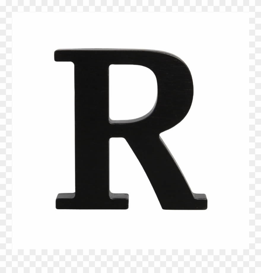 Wooden Letter R Black Looking For You Clip Art Annoying.