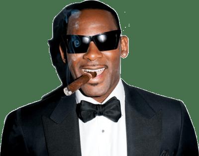 R. Kelly Smoking Cigar transparent PNG.