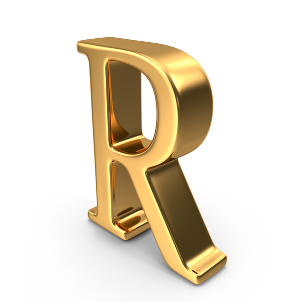 Gold Capital Letter R PNG Images & PSDs for Download.