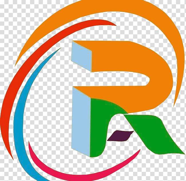 R letter logo transparent background PNG clipart.