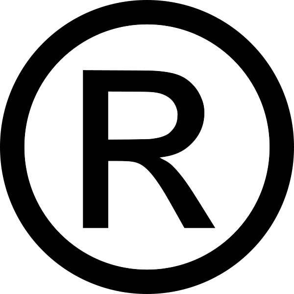 Copyright Symbol R Transparent.
