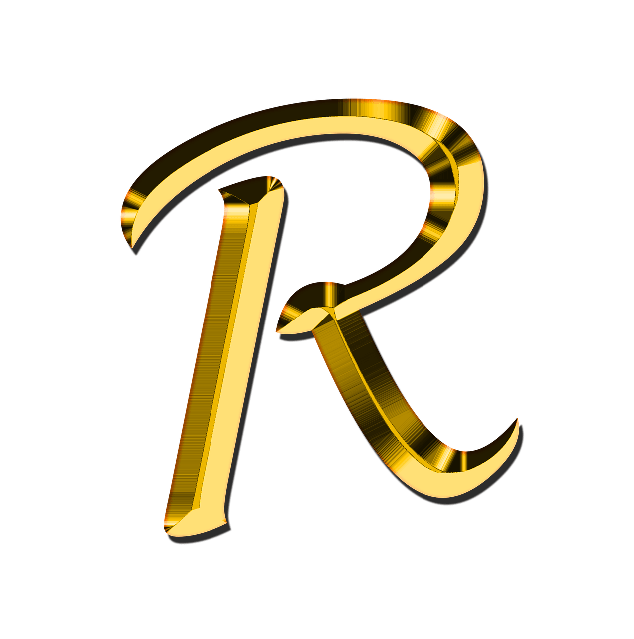 Capital Letter R transparent PNG.