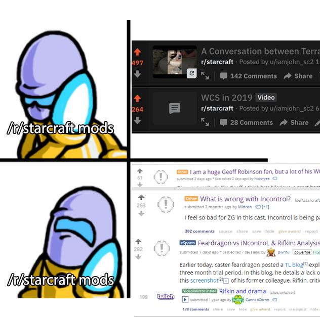 high quality content : starcraft.