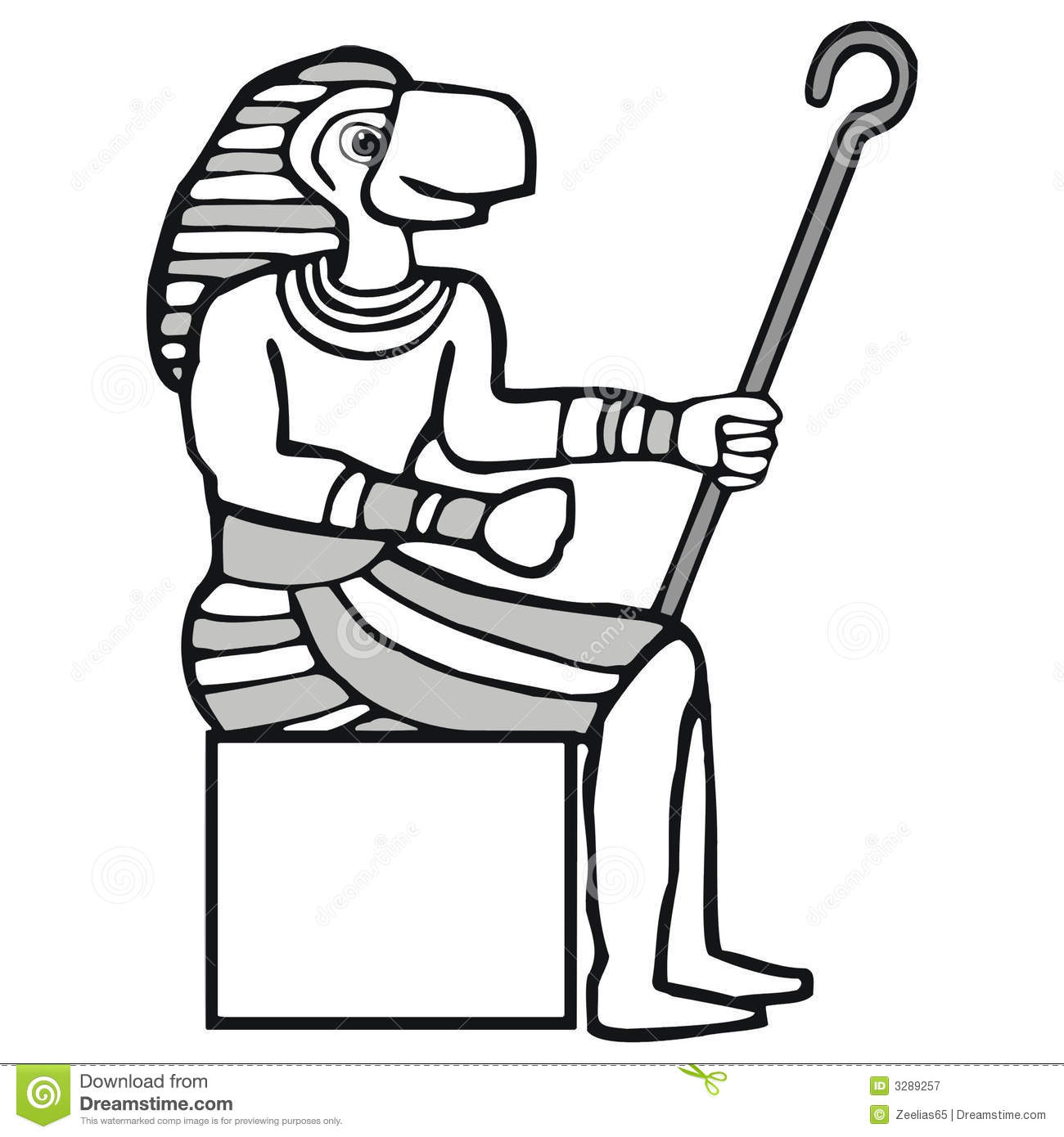 Ra, Egyptian God Royalty Free Stock Photography.