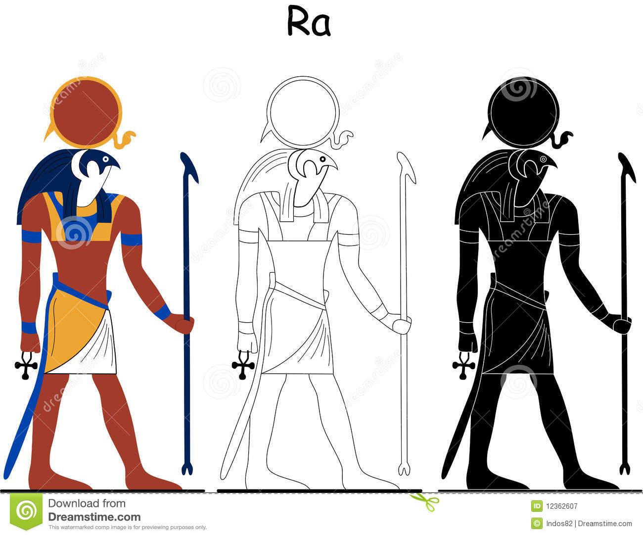 Ancient Egyptian God.