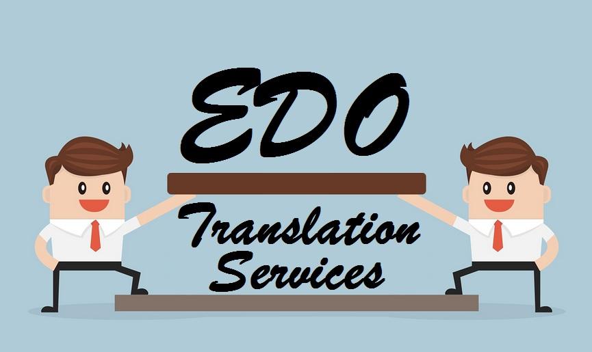 Edo Translation Services India UAE Delhi Kolkata Mumbai.