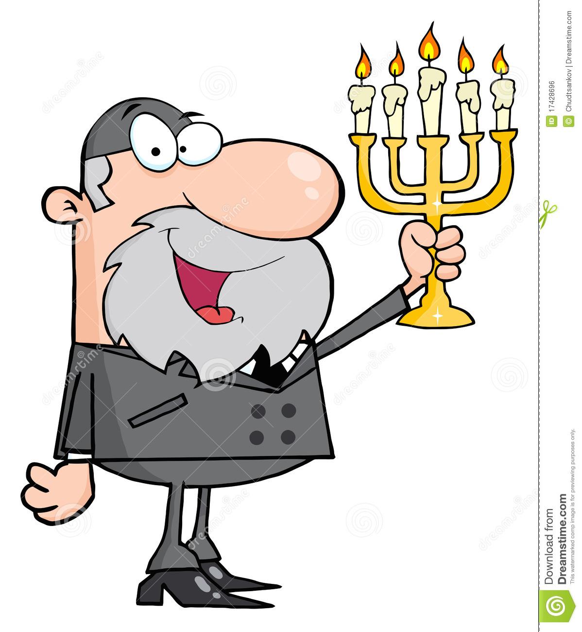 Rabbi Man Royalty Free Stock Image.